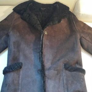 Shearling - Sheepskin Womens Coat